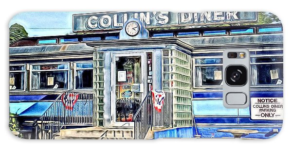 Collin's Diner New Canaan,conn Galaxy Case