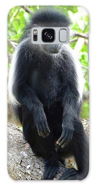 Exploramum Galaxy Case - Colobus Monkey Sitting In A Tree 2 by Exploramum Exploramum