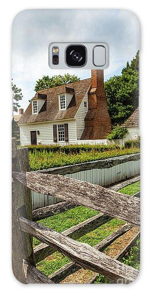 Colonial America Home Galaxy Case