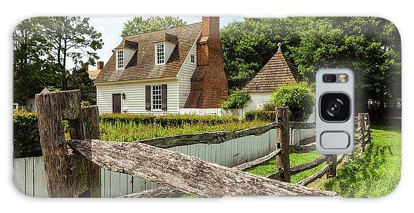 Colonial America House Galaxy Case
