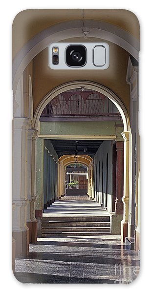 Colonial Arches Granada Nicaragua Galaxy Case by John  Mitchell