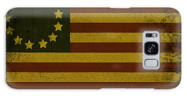 Colonial Flag Galaxy Case by Bill Cannon