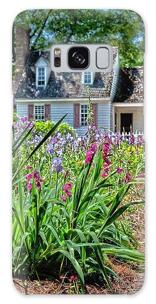 Colonial Garden1 Galaxy Case