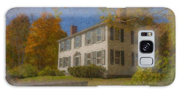 Colonial House On Main Street, Easton Galaxy Case