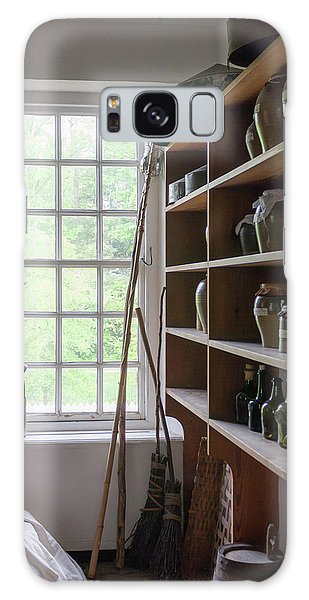 Royal Colony Galaxy Case - Colonial Kitchen Pantry by Teresa Mucha