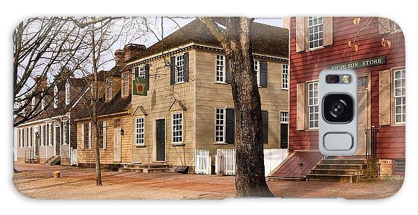 Colonial Street Scene Galaxy Case