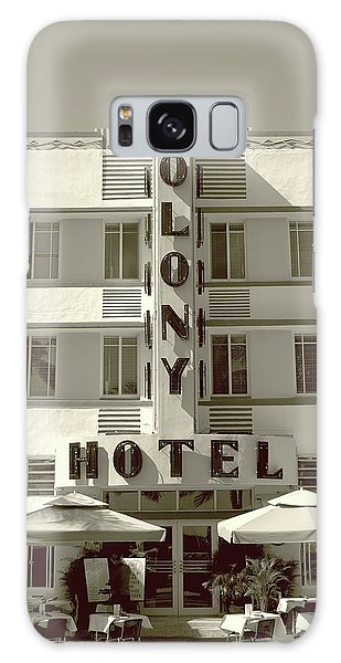 Colony Hotel South Beach Galaxy Case