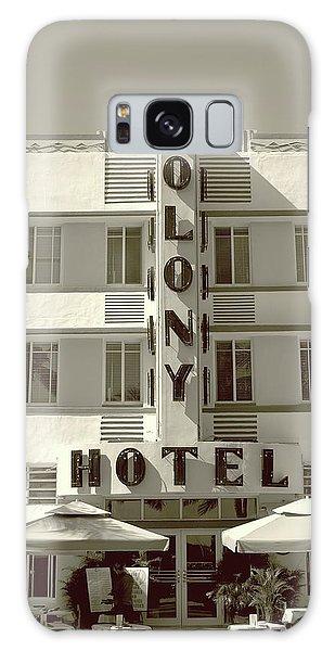 Colony Hotel South Beach Galaxy Case