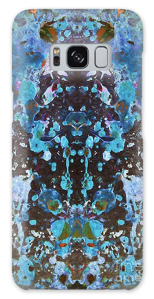 Color Abstraction Iv Galaxy Case by David Gordon