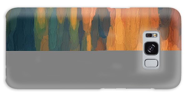 Color Abstraction L Sq Galaxy Case