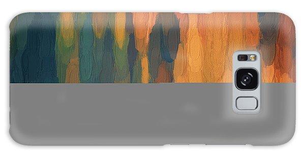 Color Abstraction L Sq Galaxy Case by David Gordon
