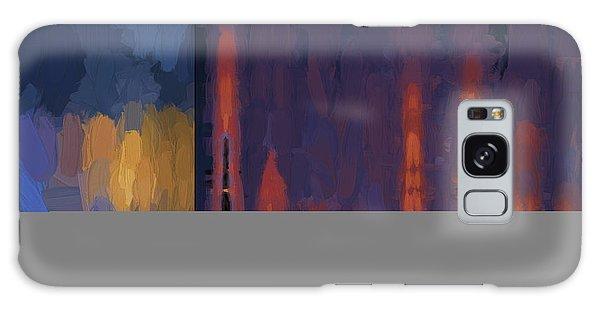 Color Abstraction Lii Galaxy Case