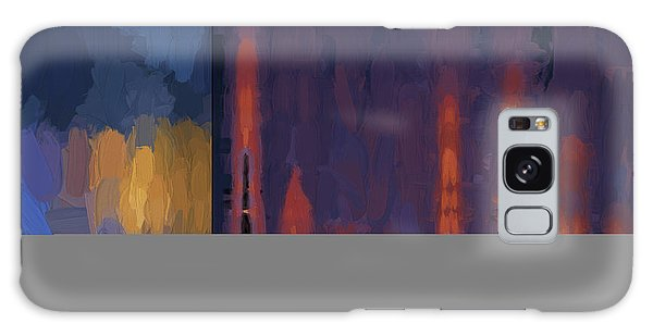 Color Abstraction Lii Galaxy Case