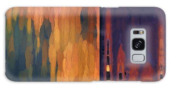 Color Abstraction Liv Galaxy Case
