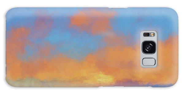 Color Abstraction Lvii Galaxy Case