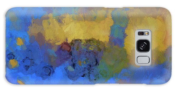 Color Abstraction Lviii Galaxy Case by David Gordon