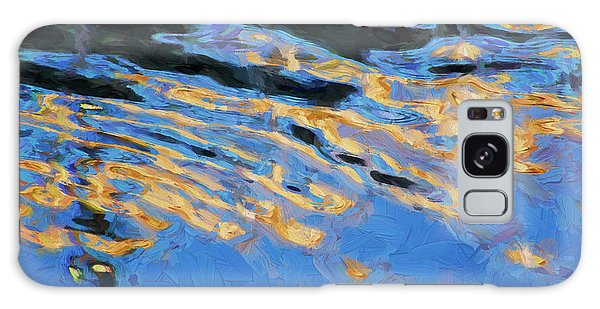 Color Abstraction Lxiv Galaxy Case by David Gordon