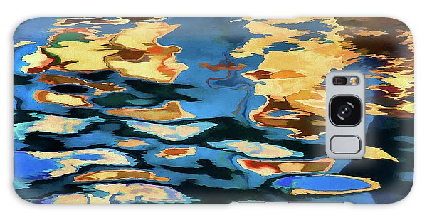 Color Abstraction Lxix Galaxy Case by David Gordon