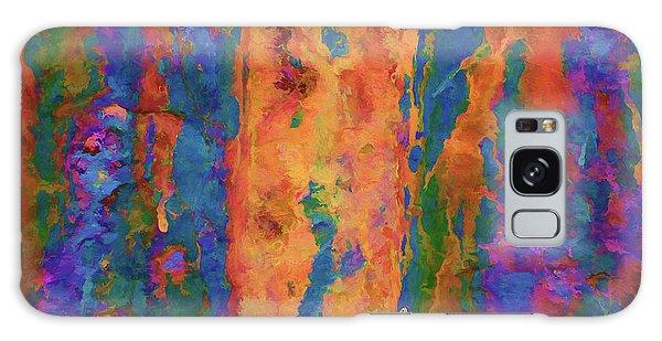 Color Abstraction Lxvi Galaxy Case