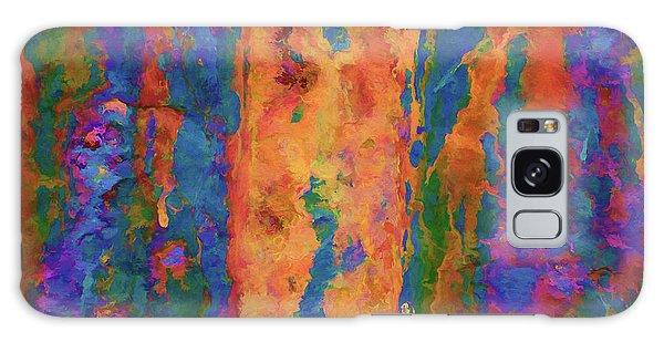 Color Abstraction Lxvi Galaxy Case by David Gordon