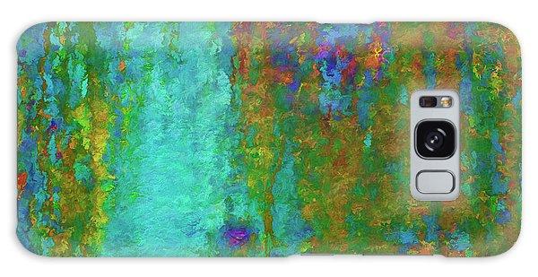 Color Abstraction Lxvii Galaxy Case