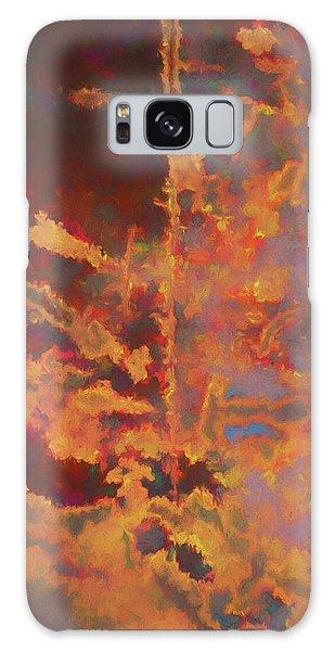 Color Abstraction Lxxi Galaxy Case by David Gordon