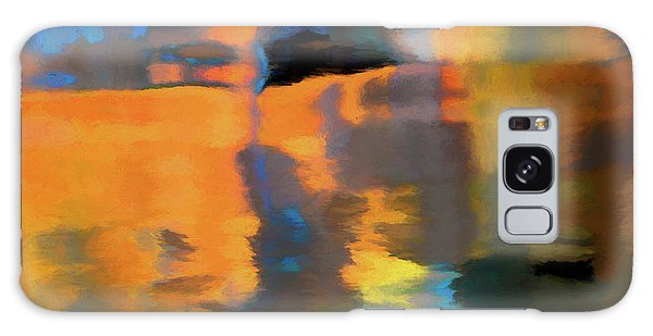 Color Abstraction Lxxii Galaxy Case by David Gordon