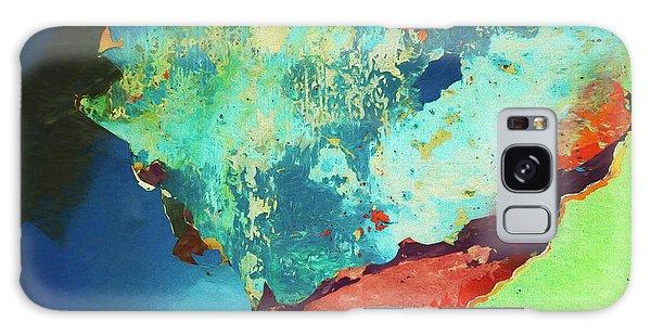 Color Abstraction Lxxvi Galaxy Case by David Gordon