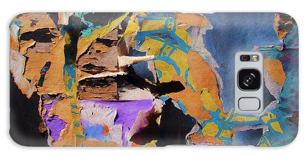 Color Abstraction Lxxvii Galaxy Case by David Gordon