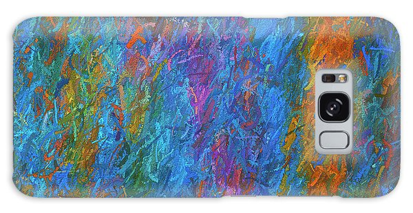 Color Abstraction Xiv Galaxy Case by David Gordon