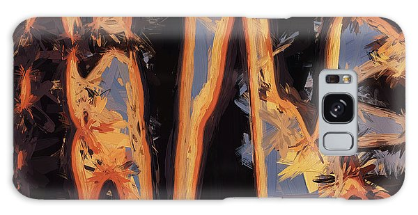 Color Abstraction Xli Galaxy Case