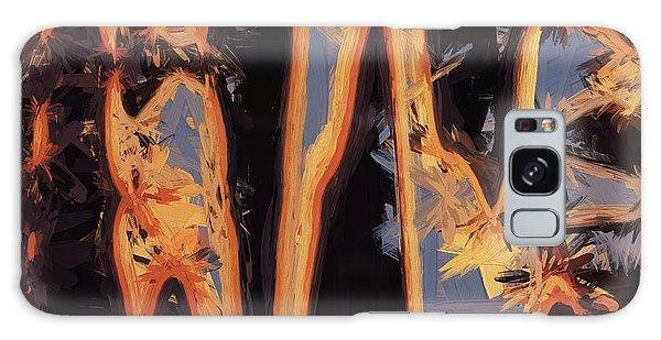 Color Abstraction Xli Galaxy Case by David Gordon