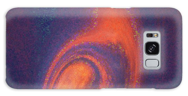 Color Abstraction Xlii Galaxy Case by David Gordon