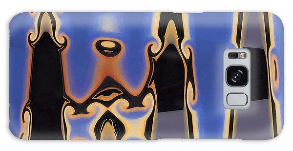 Color Abstraction Xliii Galaxy Case by David Gordon