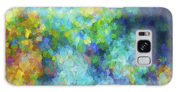 Color Abstraction Xliv Galaxy Case by David Gordon