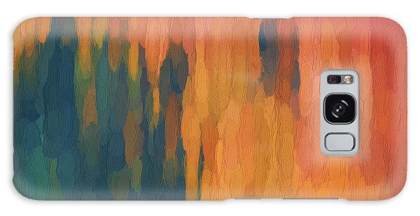 Color Abstraction Xlix Galaxy Case by David Gordon
