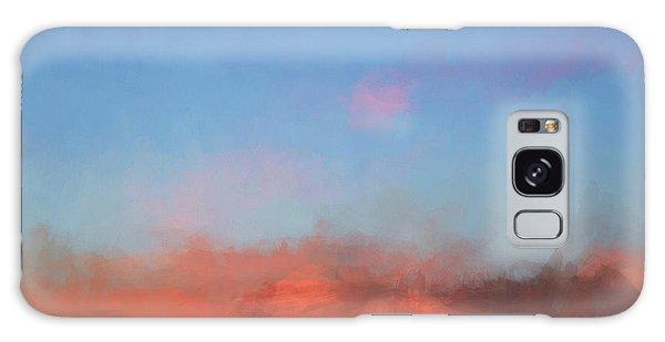 Color Abstraction Xlvii - Sunset Galaxy Case