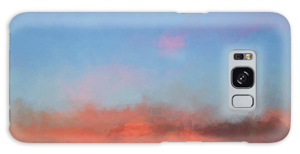 Color Abstraction Xlvii - Sunset Galaxy Case by David Gordon