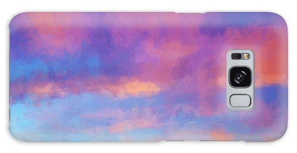 Color Abstraction Xlviii - Sunset Galaxy Case