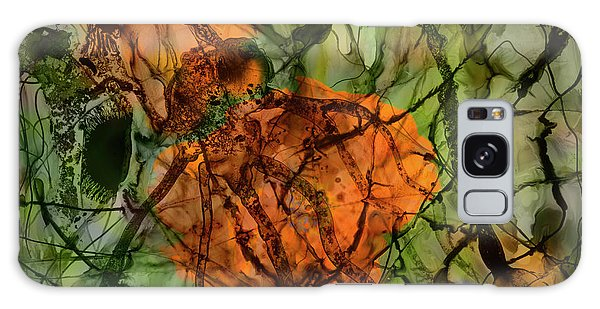 Color Abstraction Xx Galaxy Case