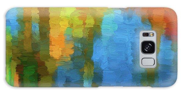 Color Abstraction Xxxi Galaxy Case by David Gordon