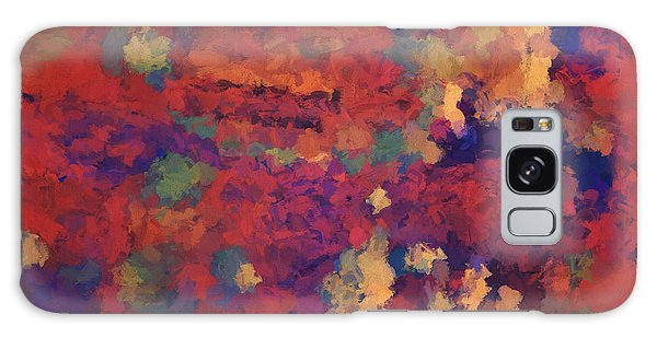 Color Abstraction Xxxv Galaxy Case by David Gordon