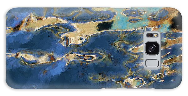 Color Abstraction Xxxvii - Painterly Galaxy Case