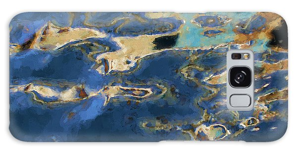 Color Abstraction Xxxvii - Painterly Galaxy Case by David Gordon