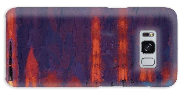 Color Abstraction Xxxviii Galaxy Case by Dave Gordon