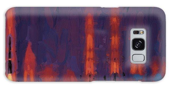 Color Abstraction Xxxviii Galaxy Case