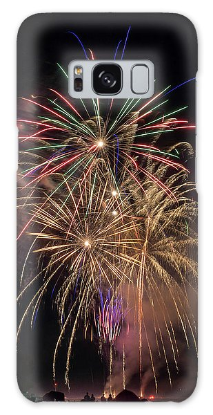 Galaxy Case featuring the photograph Color And Chaos by Bill Pevlor