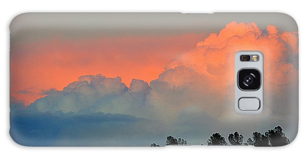 Galaxy Case featuring the photograph Color Burst by AJ Schibig
