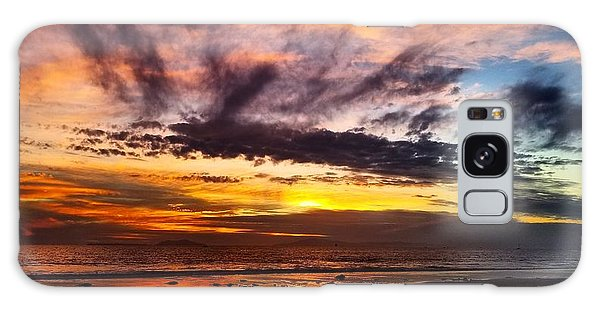Color Burst Malibu Sunset Galaxy Case
