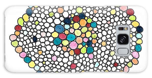 Color Cells Galaxy Case